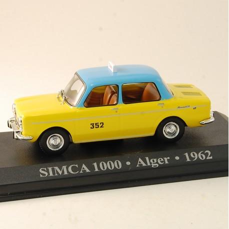 Simca 1000 - Taxi Alger 1962 - 1/43 ème En boite