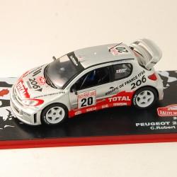 Peugeot 206 WRC - Rallye Monte-Carlo 2003 - 1/43 ème En boite