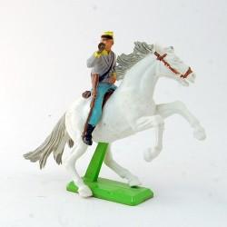 Soldat avec Trompette à cheval - Britains - 7.7 cm