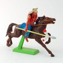 Indien à cheval - Britains - 6.7 cm