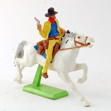 Voleur à cheval blanc - Britains - 7.2 cm
