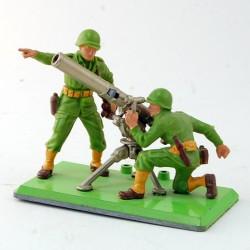 Soldats avec Mortier - Britains - 5.6 cm
