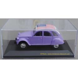 Citroën 2CV - 1/32ème Guisval - Métal - Violet (Toit USA)