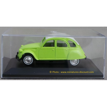 Citroën 2CV - 1/32ème Guisval - Métal - Vert Clair