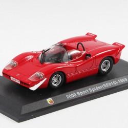 Abarth 2000 Sport Spider SE010 de 1969 - 1/43ème en boite