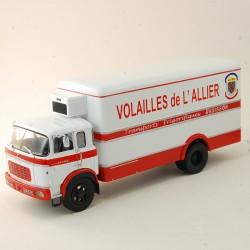 """Berliet GR200 """" Volailles de L'allier """" - IXO - 1/43 ème En boite"""