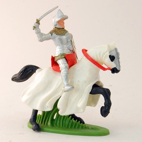 Guerrier sur cheval - Britains - 7 cm