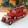 Camion de Pompier Cadillac V16 Fire Wagon - Matchbox - 1/43 ème En boite