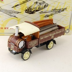 Yorkshire Steam Wagon 1917 - Matchbox - 1/43 ème En boite