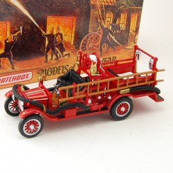 Camion de Pompier Model T Fire Engine 1916 - Matchbox - 1/43 ème En boite