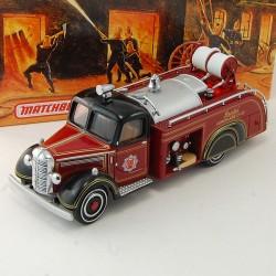 Camion de Pompier Bedford 1939 - Matchbox - 1/43 ème En boite
