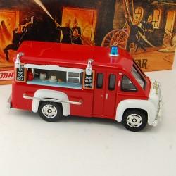Camion de Pompier Dodge Route Van - Matchbox - 1/43 ème En boite