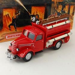 Camion de Pompier Bedford Tanker - Matchbox - 1/43 ème En boite