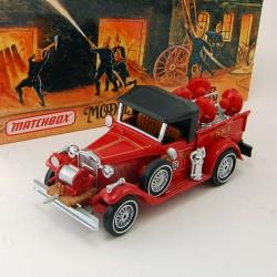 Camion de Pompier Ford Model A Battalion Chiefs Vehicle - Matchbox - 1/43 ème En boite