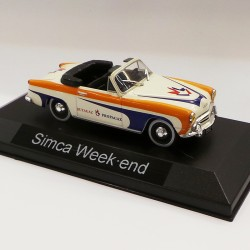 "Simca Week-end "" Butagaz "" - au 1/43 sous blister"