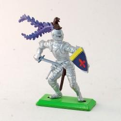 Guerrier avec bouclier et épée - Britains - 6,4 cm