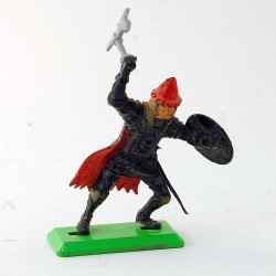 Guerrier avec cape - Britains - 7 cm