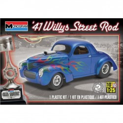 Monogram - '41 Willys Street Rod - 1/25 ème