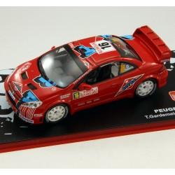Peugeot 307 WRC - Rallye Monte Carlo 2006 - 1/43 ème En boite