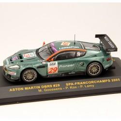Aston Martin DBR9 N°29 - Spa-Francochamps 2005 - IXO - 1/43 ème En boite
