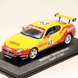 Maserati Trofeo 2003 - 1/43 ème En boite
