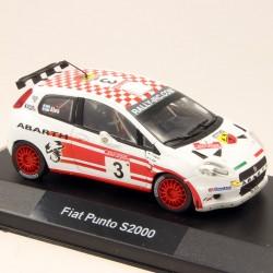 Fiat Punto S2000 - 1/43 ème En boite