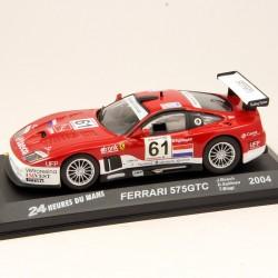 Ferrari 575 GTC - Le Mans 2004 - 1/43 ème En boite
