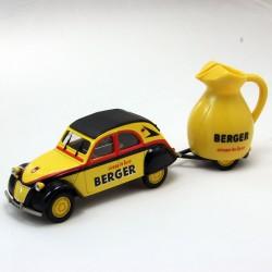 """Citroen 2CV """"Berger"""" - Tour de France - Norev - 1/43ème"""