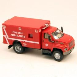 GMC Camion de Pompier Américain - Schuco - 1/87 ème En boite