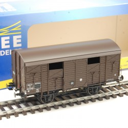 Wagon plat REE LTB-01 Le Train ,1/87ème