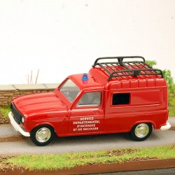 Renault 4 - 4L Fourgonnette Pompiers - Service départemental d'incendie et de secours