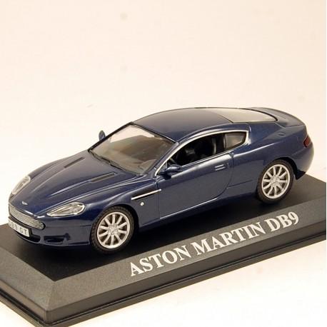 Aston Martin DB9 - Verte foncé - 1/43 - sous blister