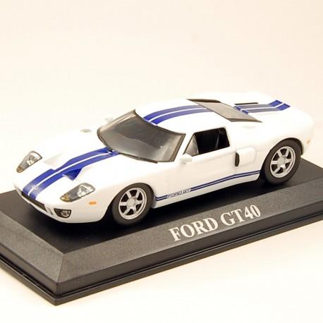 Ford GT40 Gulf n°10 - Le Mans 1968 - Ixo - au 1/43 en boite