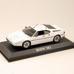 BMW M1 - Rouge - Solido - 1/43 - sous blister
