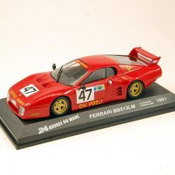 Ferrari BB512LM - 24h du Mans 1981 - 1/43ème