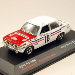 Open Ascona - Rallye Monte Carlo 1972 - 1/43ème