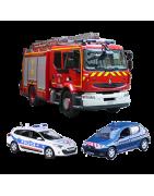 Véhicules Miniatures et Engins de Secours, Pompiers, Gendarmerie, Police, Samu, Sécurité Civile,