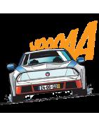 Voici Les reproduction de voitures de Michel Vaillant, 1/43 en résine