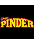 """Voici nos véhicules miniatures sur le thème du cirque dont  """"Pinder"""""""
