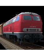 Modélisme Férroviaire, Locomotives, Wagons, Décors, HO, N, 1/87ème à prix discount