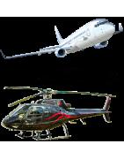 Miniatures d'hélicoptères, miniatures d'avions et objets volantJouets de collection