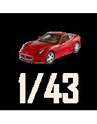 Echelle 1/43ème de voiture Miniature