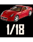 Echelle 1/18ème de voiture Miniature