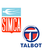 Miniatures du constructeur Simca, Talbot, 1000, 1100, Solara, Baghera